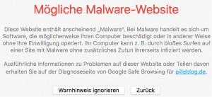 malware_eigene_homepage