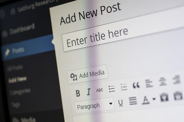 Problem visuellen Editor WordPress