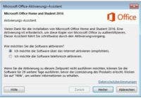 Microsoft Office aktivieren